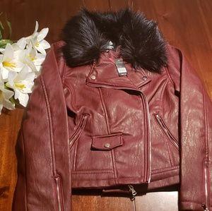 Jackets & Blazers - ❤Faux Leather Jacket❤